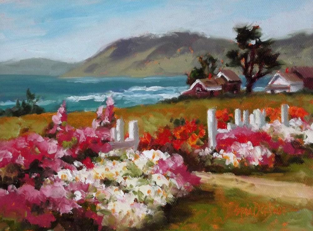 """Breezy and Beautiful"" original fine art by Erin Dertner"