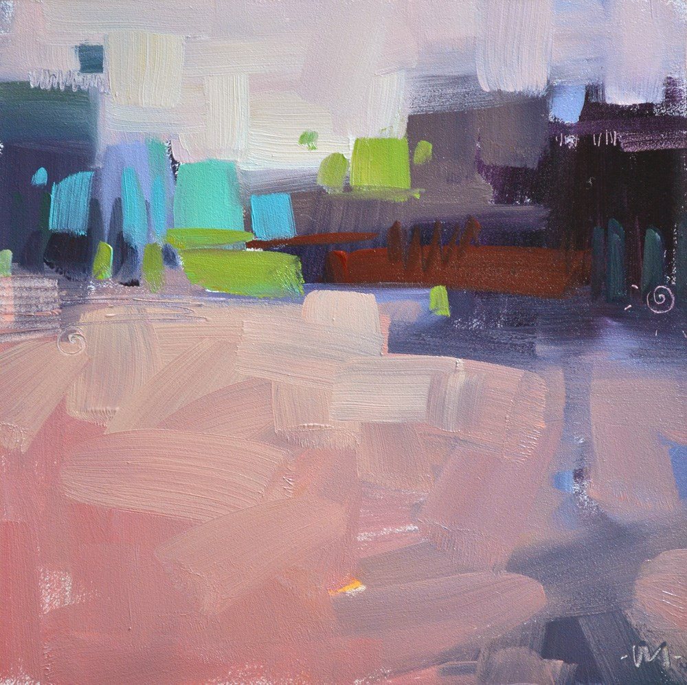 """Oasis in the Desert"" original fine art by Carol Marine"