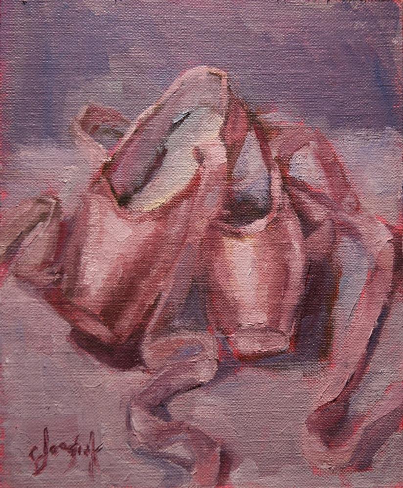 """Dance into the New Year"" original fine art by Carol Josefiak"