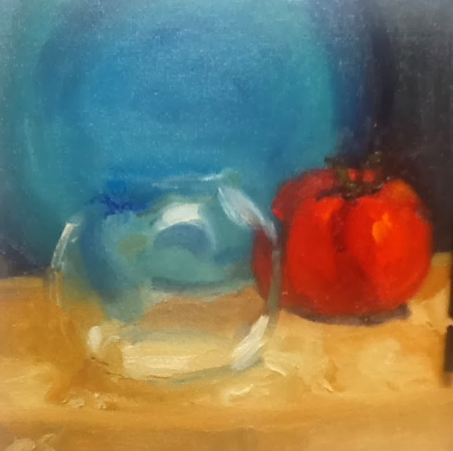 """Glass"" original fine art by Peggy Schumm"