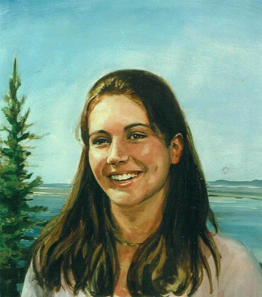 """Melissa,portrait,Gouache on paper,20x16,priceNFS"" original fine art by Joy Olney"