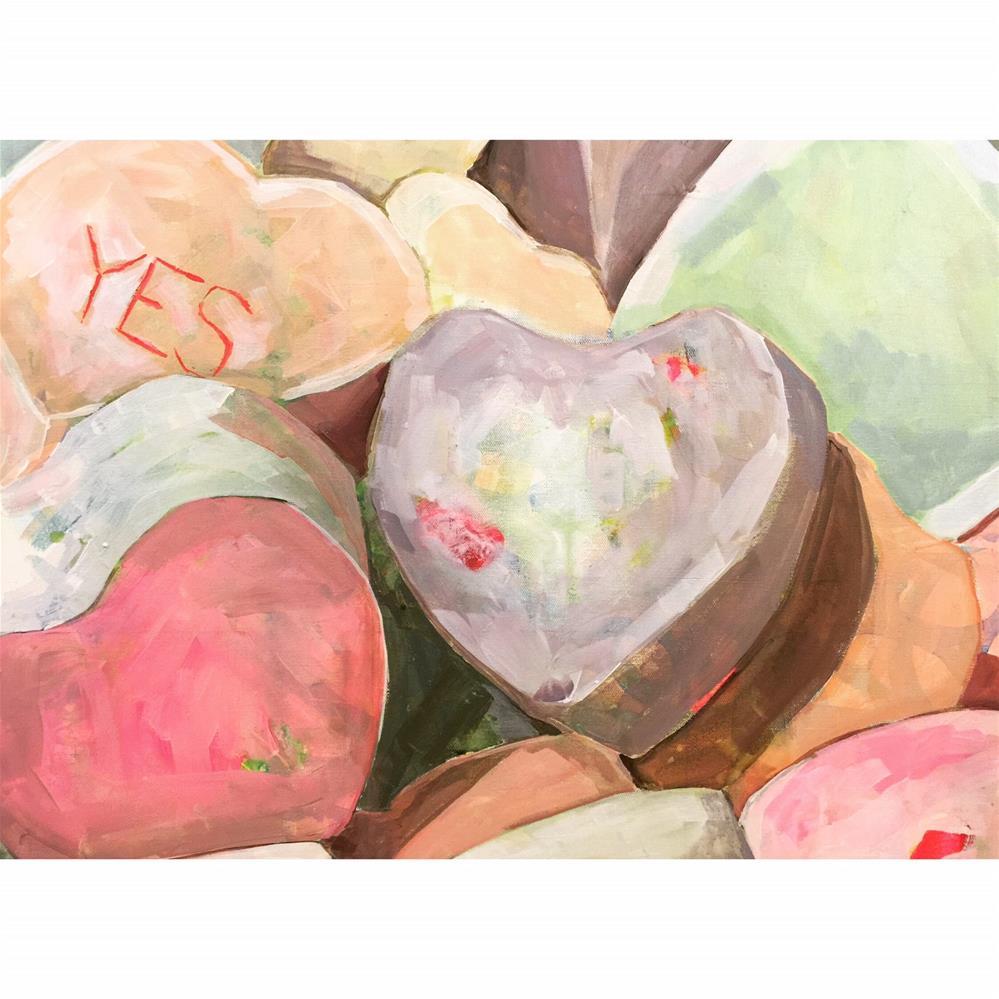 """""""603 Yes"""" original fine art by Jenny Doh"""