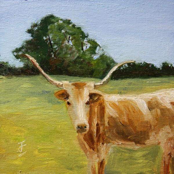 """Home on the Range"" original fine art by Jane Frederick"