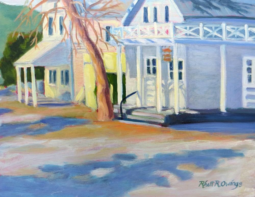 """Knights Ferry Main Street"" original fine art by Rhett Regina Owings"