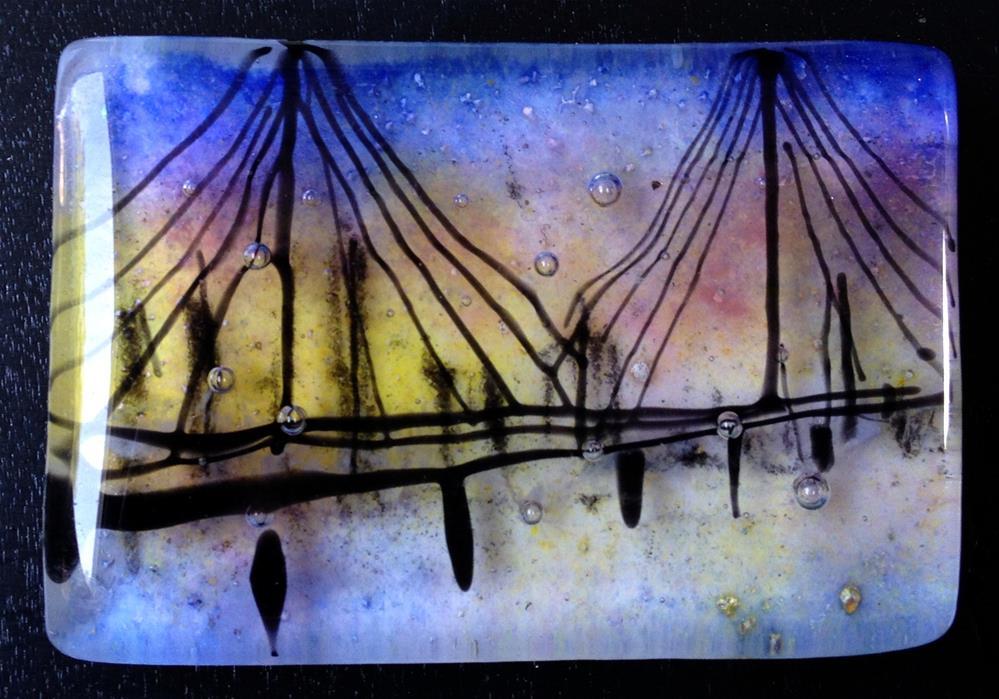 """Hi Level Night"" original fine art by Kristen Dukat"
