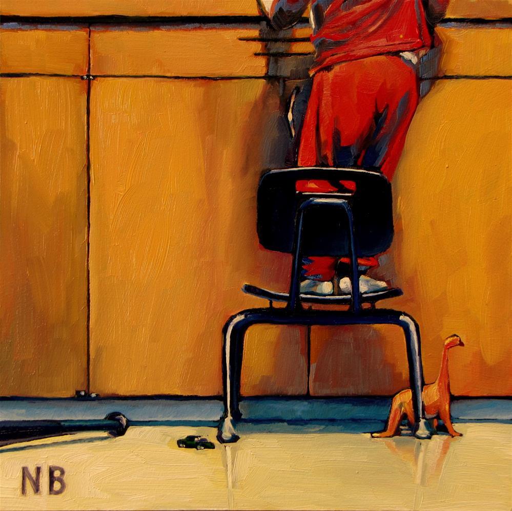 """""""Kitchen Sink"""" original fine art by Nora Bergman"""