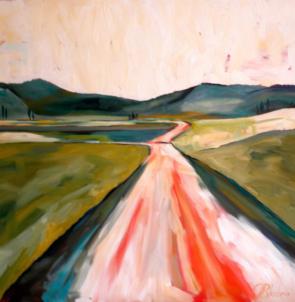 """On The Road Again"" original fine art by Janet Bludau"