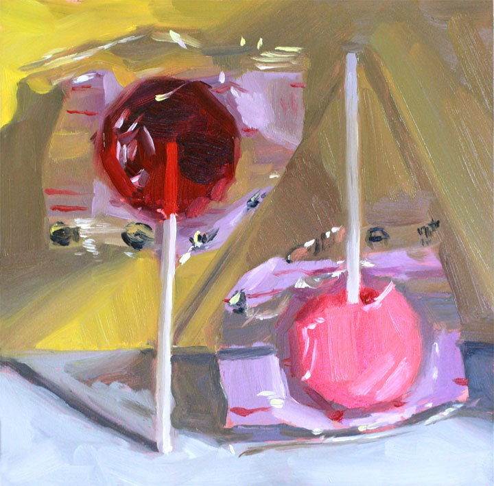 """Lollies"" original fine art by Nealy May Riley"
