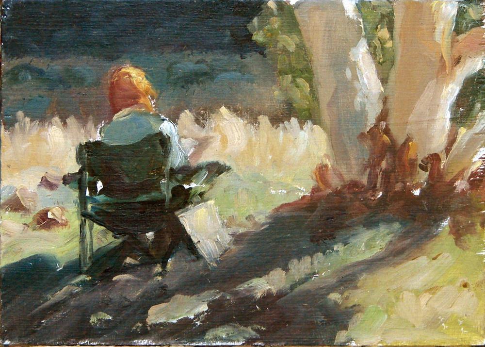 """Ruby Gap - Inspiration"" original fine art by Myriam Kin-Yee"