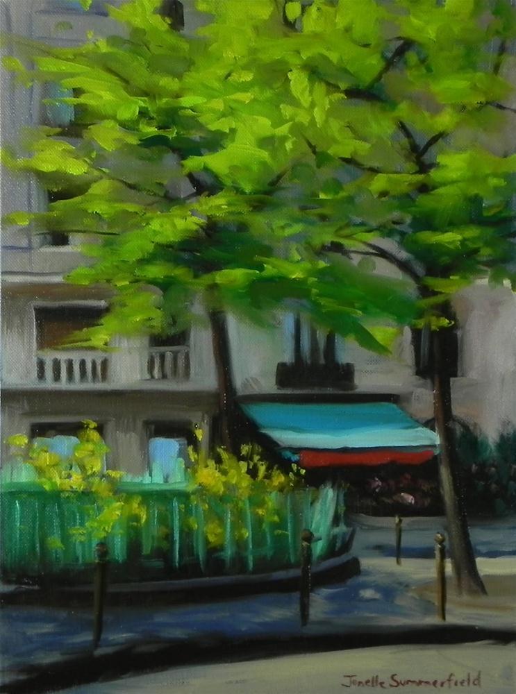 """Tulip Stand"" original fine art by Jonelle Summerfield"