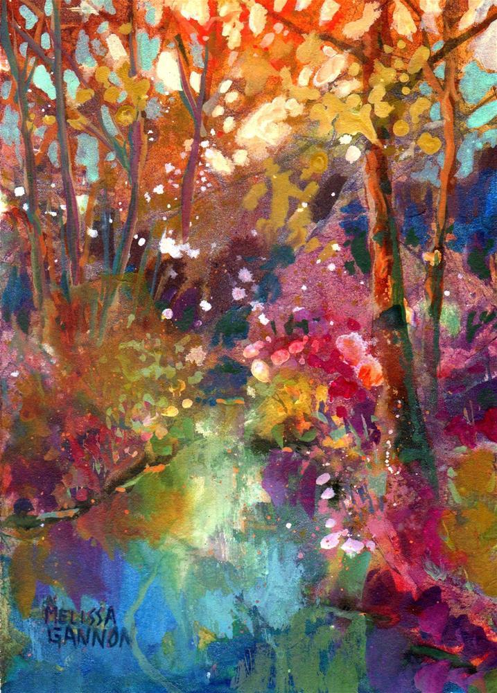 """""""Spring at Last!"""" original fine art by Melissa Gannon"""