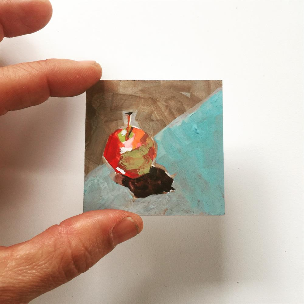 """656 Teeny Tiny"" original fine art by Jenny Doh"