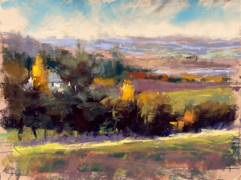"""Overlook"" original fine art by Marla Baggetta"