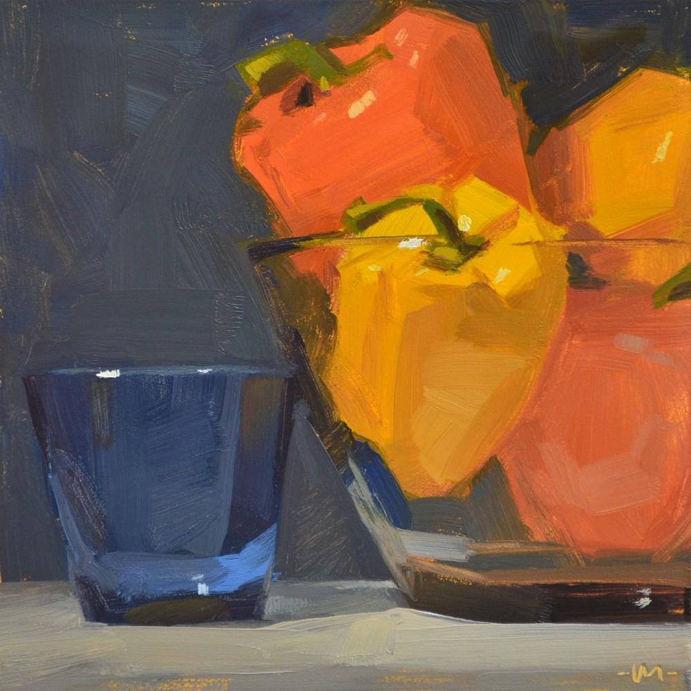 """""""Empty Full"""" original fine art by Carol Marine"""