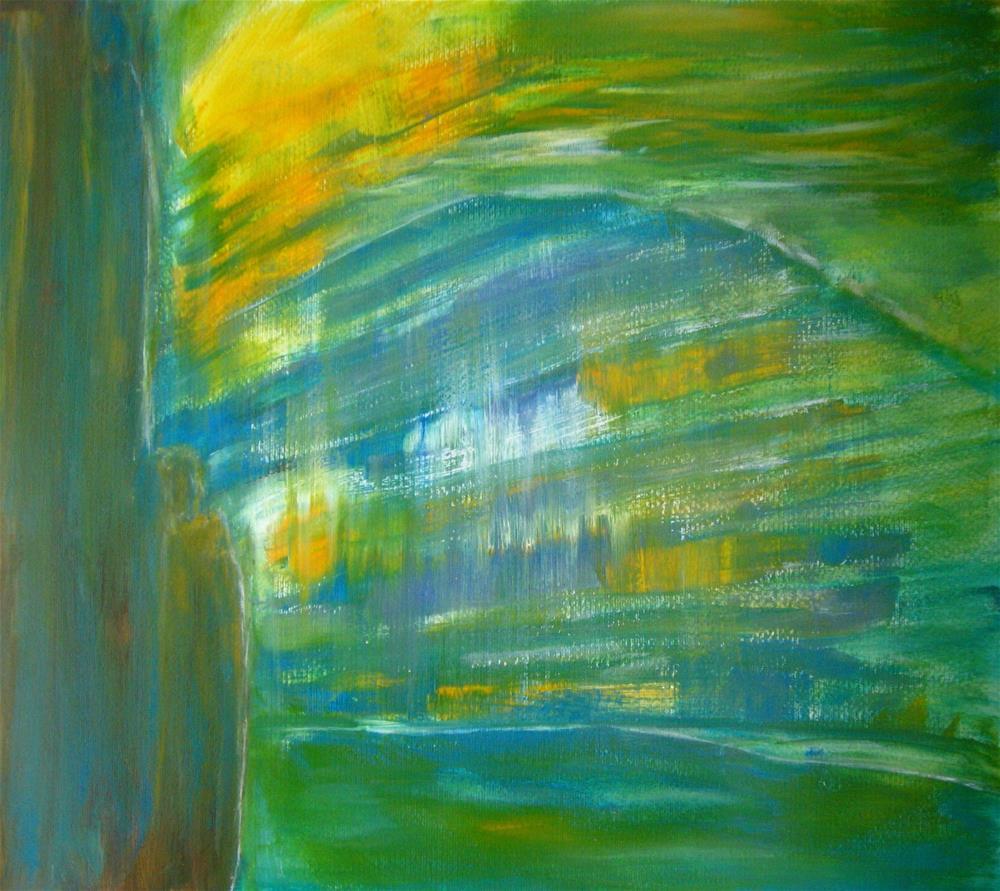 """Blue Mountain Sunset"" original fine art by Alina Frent"