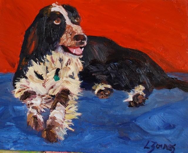 """""""Savannah"""" original fine art by Liz Zornes"""