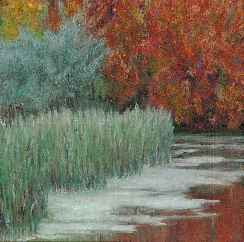 """""""Glorious Fall"""" original fine art by Karen Stitt"""