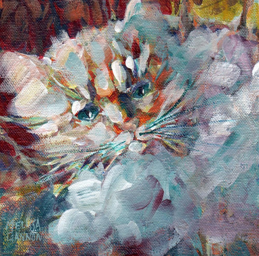 """Butterball"" original fine art by Melissa Gannon"