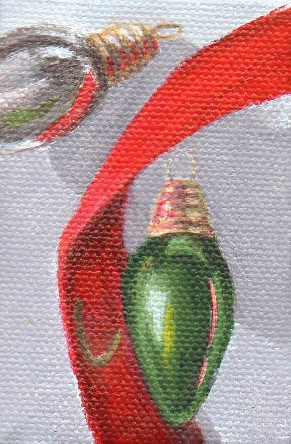 """Ornament #19"" original fine art by Debbie Shirley"