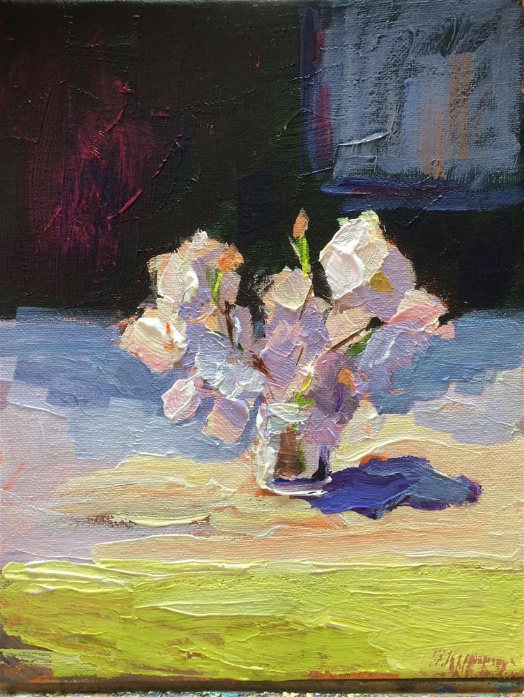 """Patio Table-2-"" original fine art by Naomi Bautista"