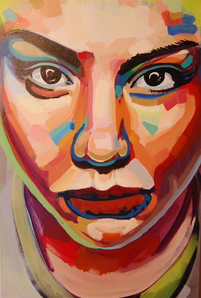 """""""color contact 2"""" original fine art by michael vigneux"""