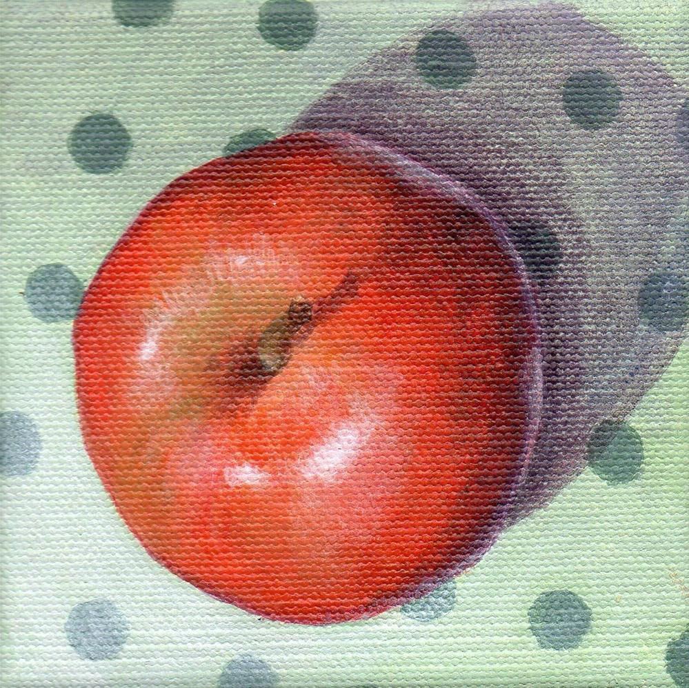 """An Apple a Day"" original fine art by Debbie Shirley"