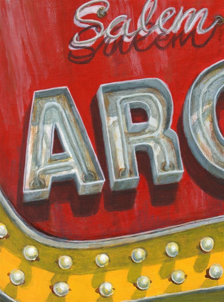 """Salem Arc"" original fine art by Debbie Shirley"