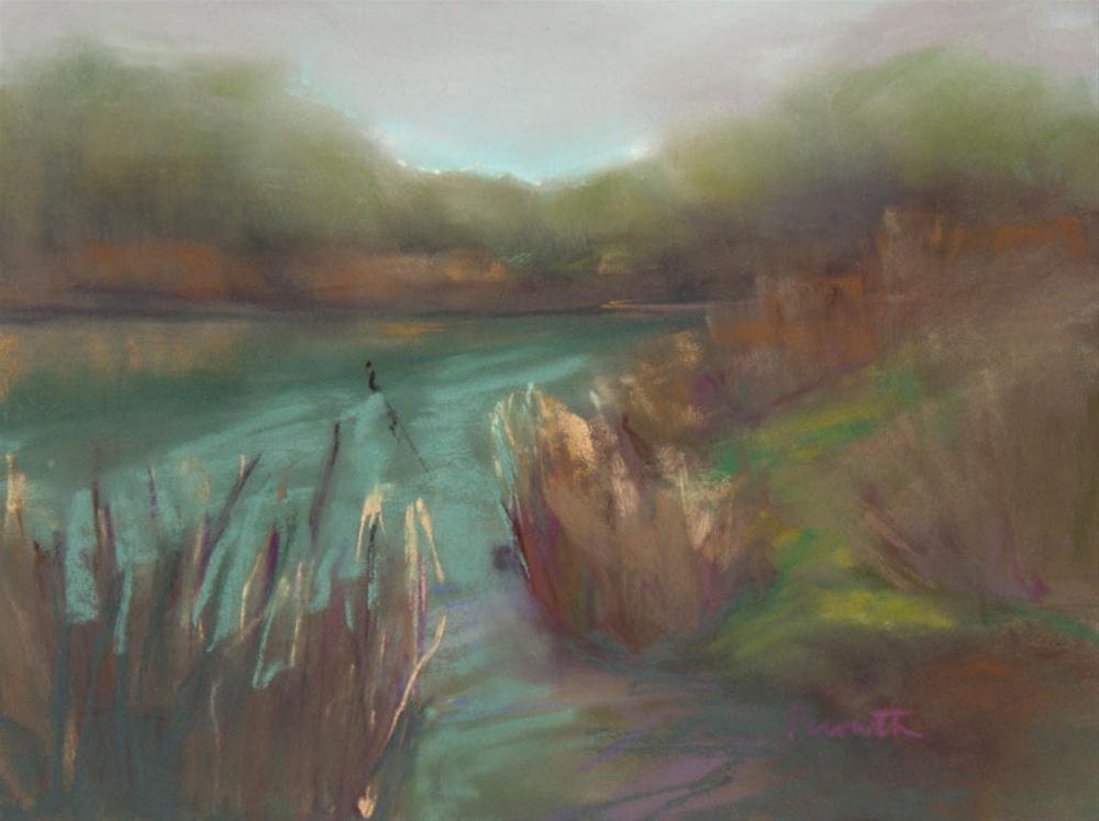 """""""A Calm Day in Early Spring"""" original fine art by Sarah Peroutka"""
