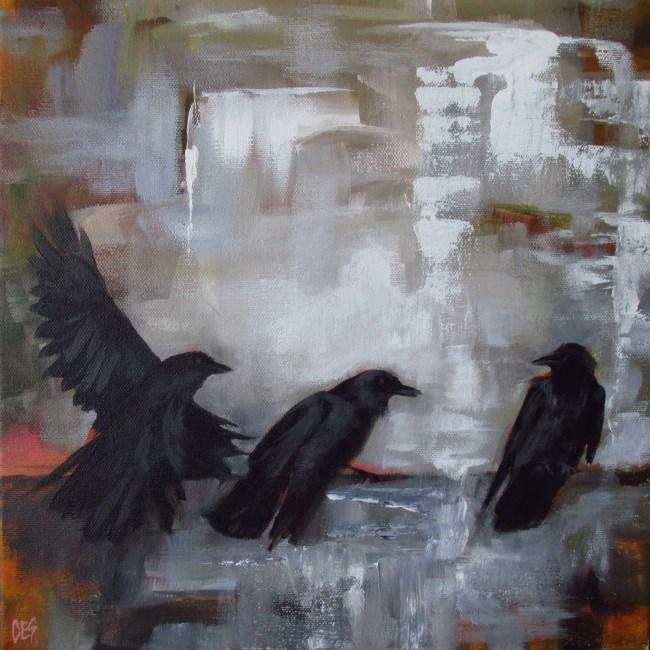 """""""Outcast"""" original fine art by ~ces~ Christine E. S. Code"""