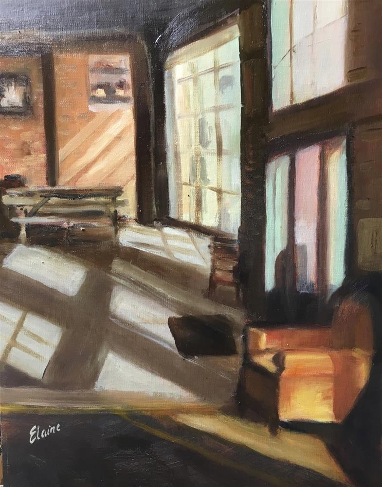 """""""Crushed Velvet"""" original fine art by Elaine Ford"""