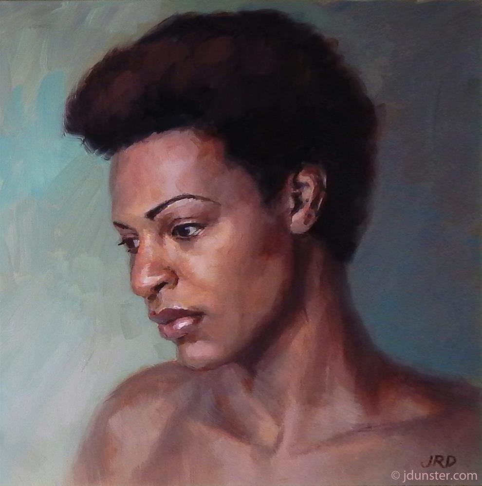 """""""Amber"""" original fine art by J. Dunster"""