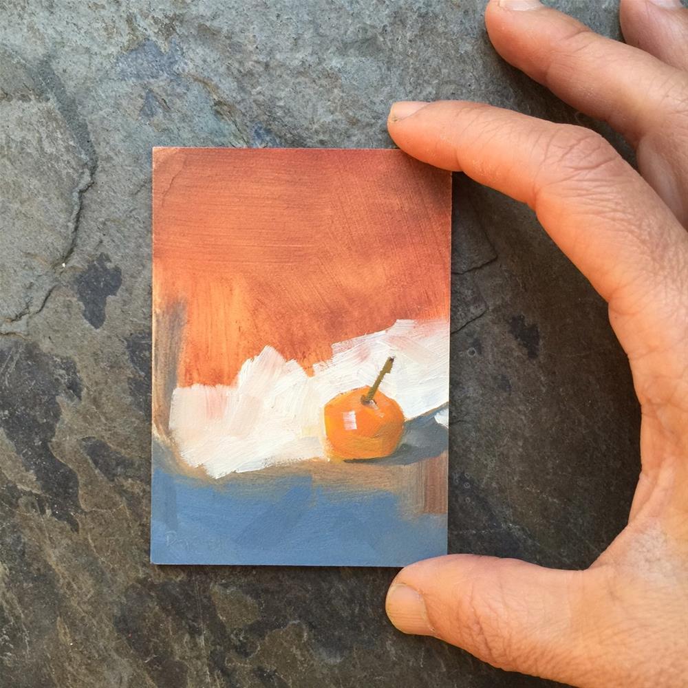 """118 Mini Mandarin"" original fine art by Jenny Doh"