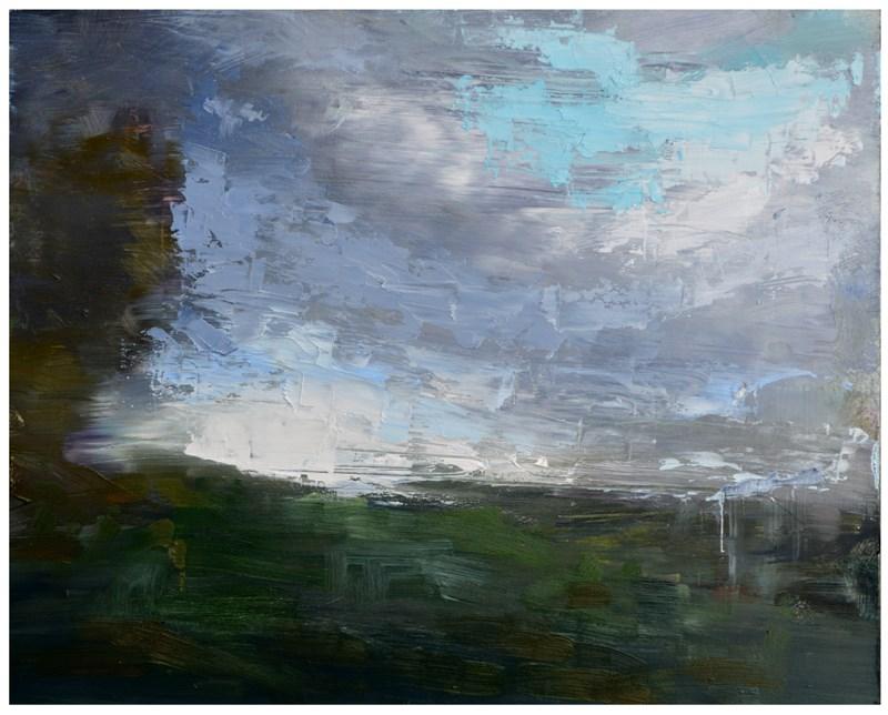 """Sky series #4"" original fine art by Steven Goodman"