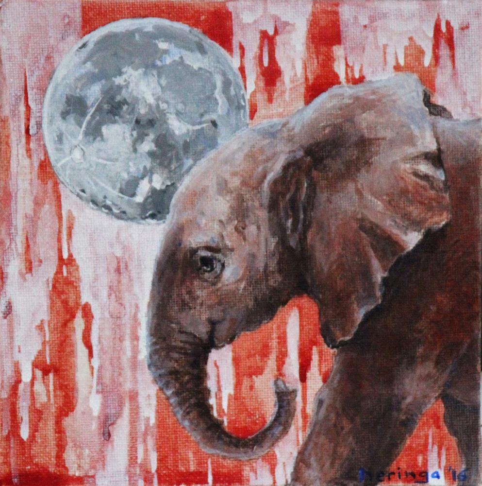 """Blood Ivory"" original fine art by Neringa Maxwell"