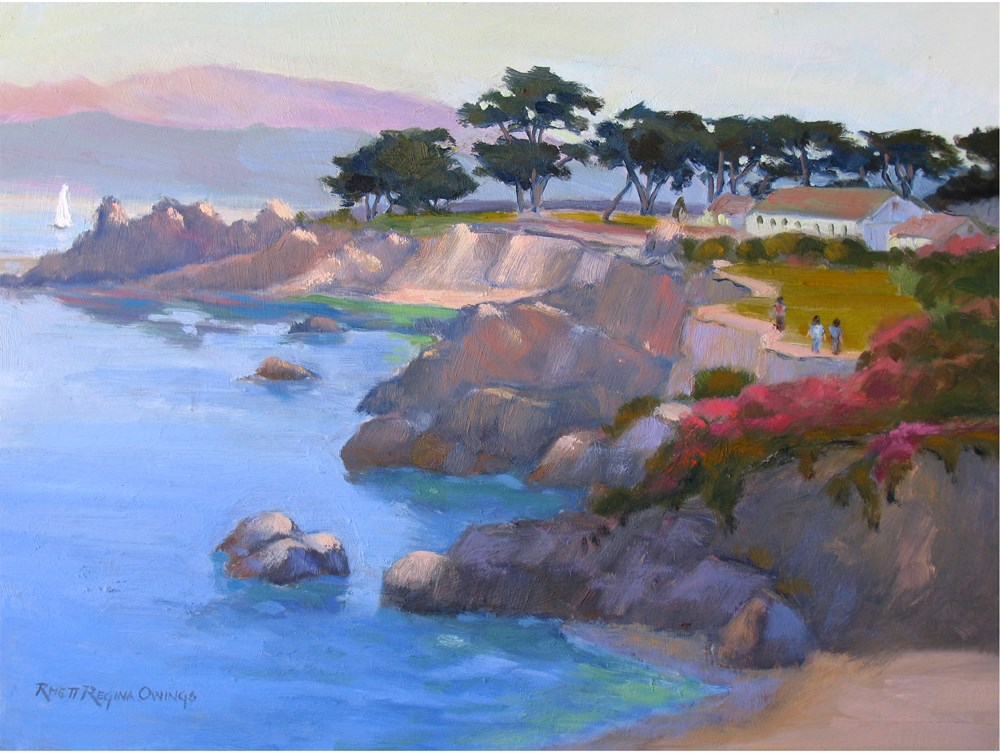 """Along the Coast"" original fine art by Rhett Regina Owings"