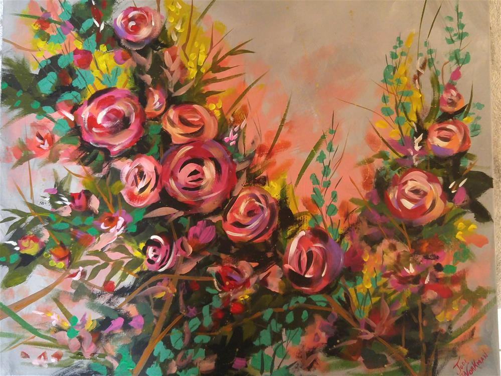 """Abundance of Joy"" original fine art by Jodi Workman"