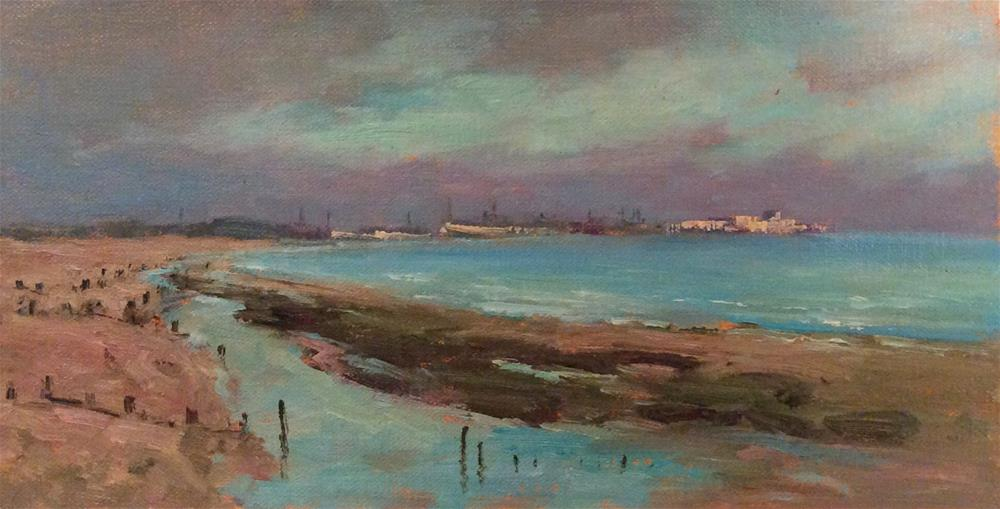"""Over Rye Bay"" original fine art by John Shave"