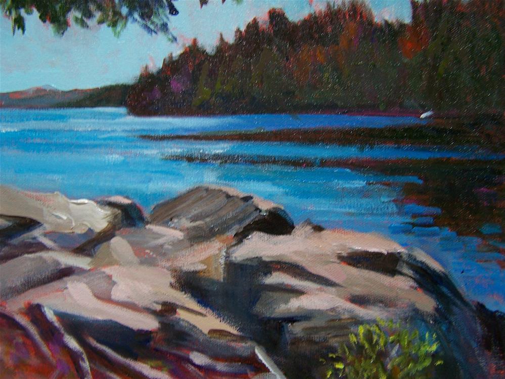 """""""Algonquin Park #2"""" original fine art by Joan Reive"""