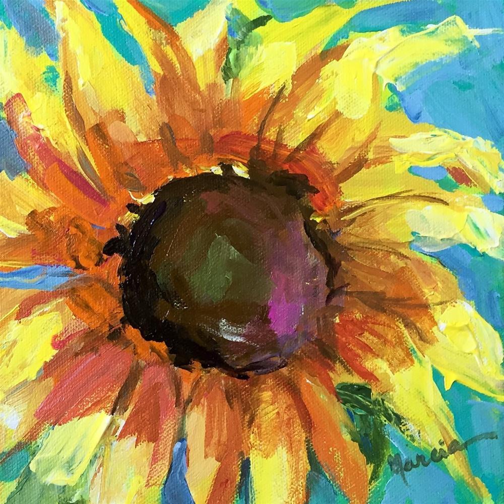 """Redeemed"" original fine art by Marcia Hodges"