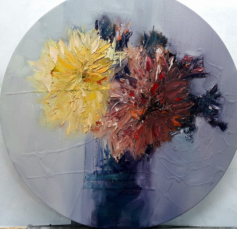 """Two's company"" original fine art by Rentia Coetzee"