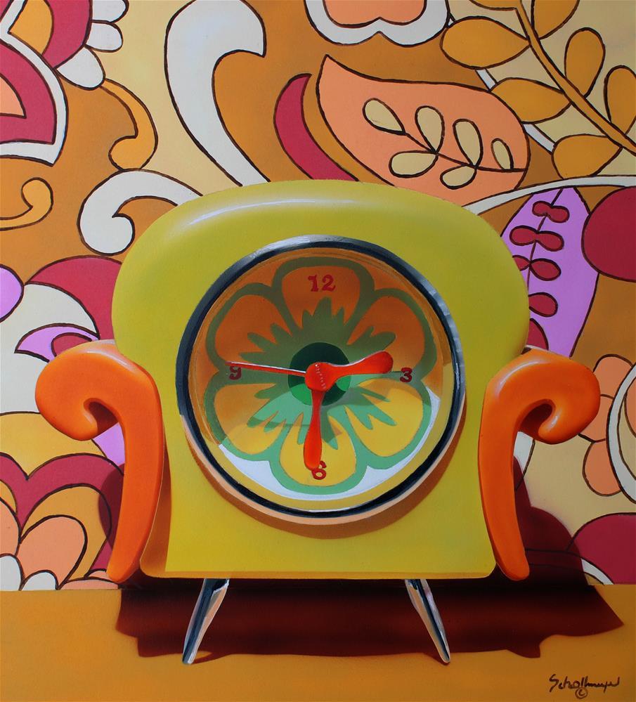 """Back in Time"" original fine art by Fred Schollmeyer"