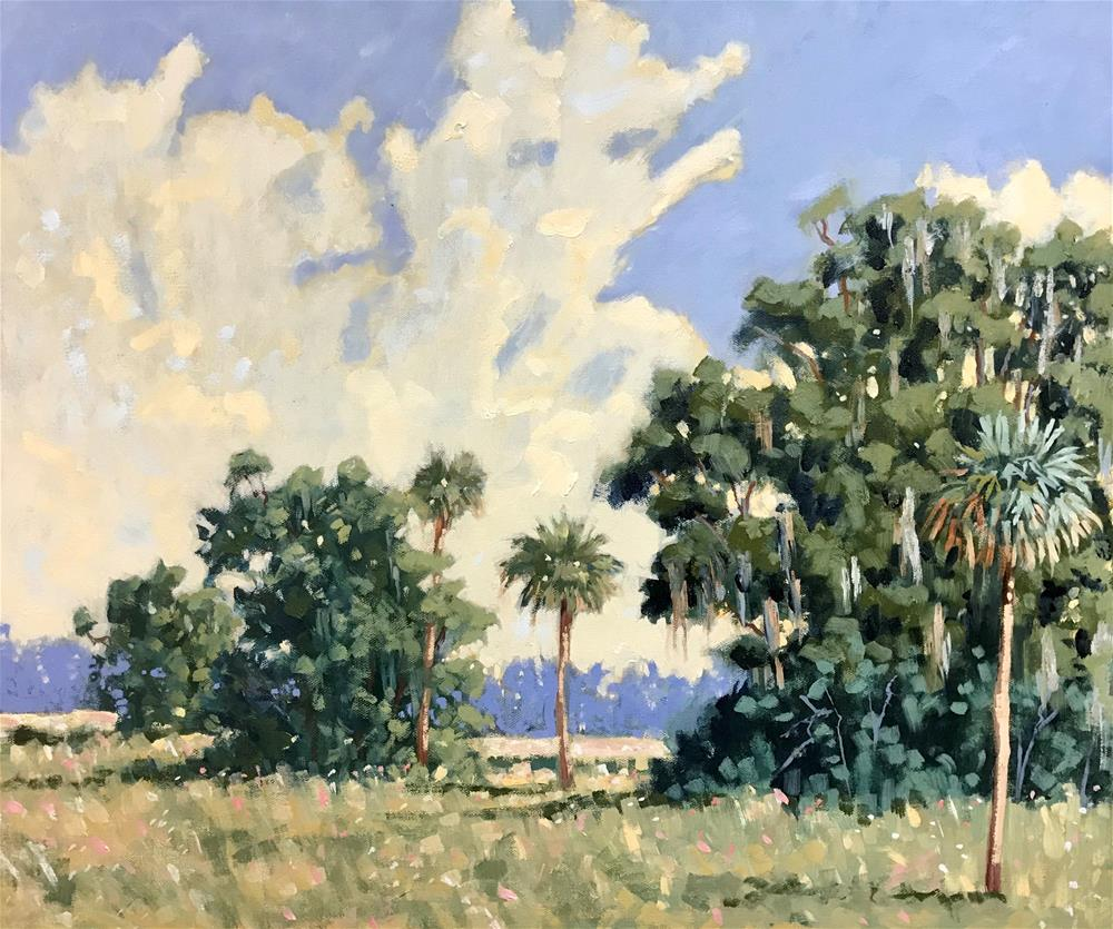 """Evinston Pasture"" original fine art by Linda Blondheim"