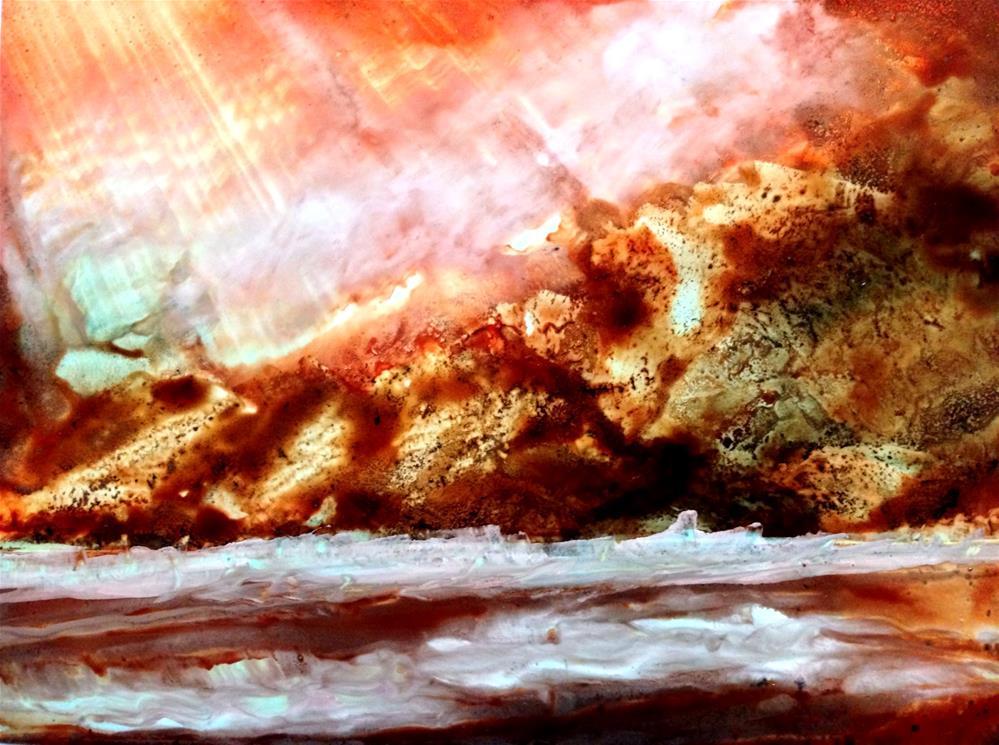"""Storm's Aftermath"" original fine art by Korinne Carpino"