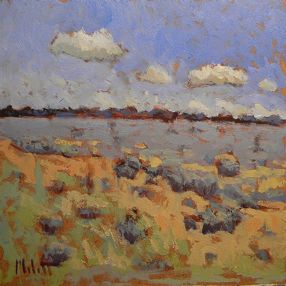 """Colors of the Southwest Series 1 of 3 Contemporary Impressionism"" original fine art by Heidi Malott"