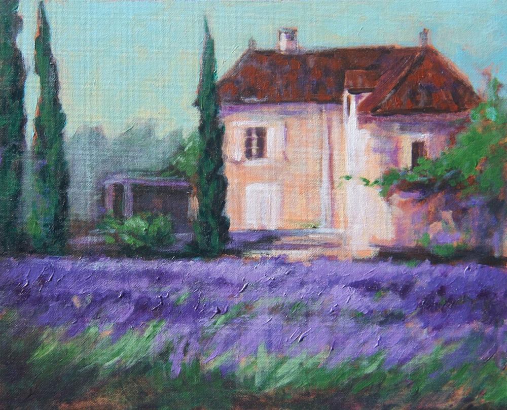 """French Etude #1"" original fine art by Tatiana Myers"