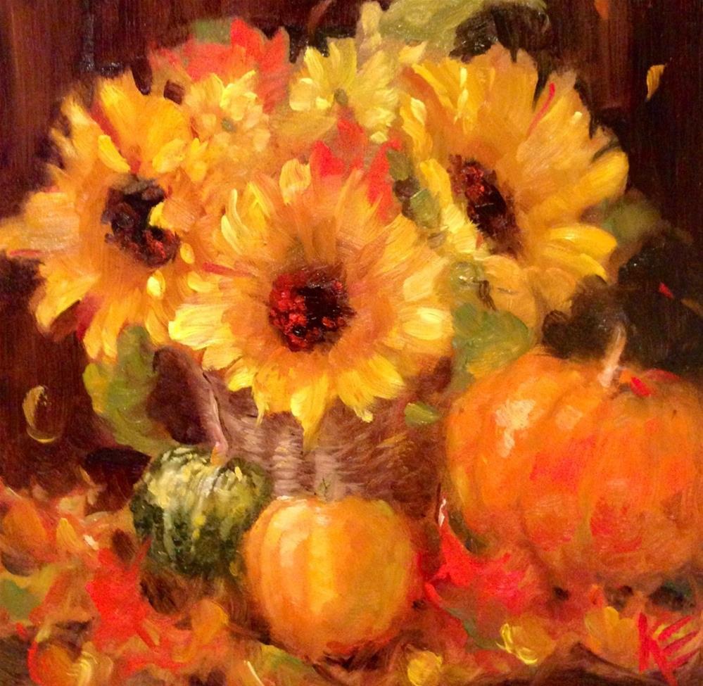 """Autumn Spice"" original fine art by Krista Eaton"