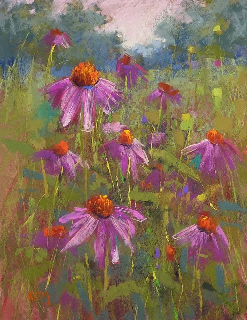 """""""When More Is Not Better....Painting Tip of the Day"""" original fine art by Karen Margulis"""