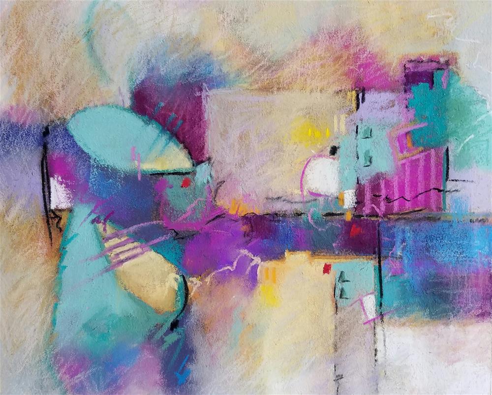 """Untitled 218"" original fine art by Cindy Haase"