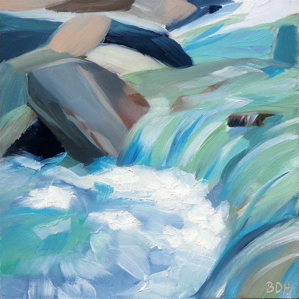 """In the Flow"" original fine art by Beth Hunt"