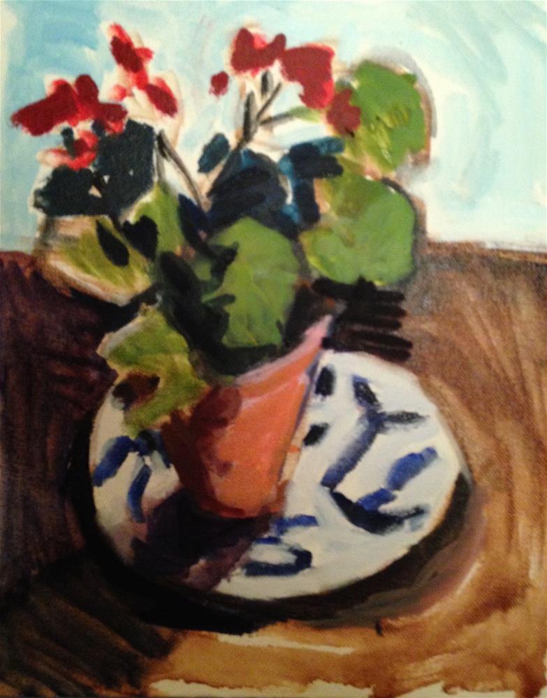 """Homage To Matisse"" original fine art by Pamela Hoffmeister"